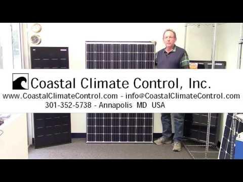 Panasonic 330 watt panel - YouTube