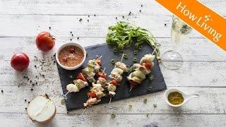 【夏日人氣下酒菜】莎莎醬雞肉串燒 Chicken Skewer with Salsa Sauce │HowLiving美味生活