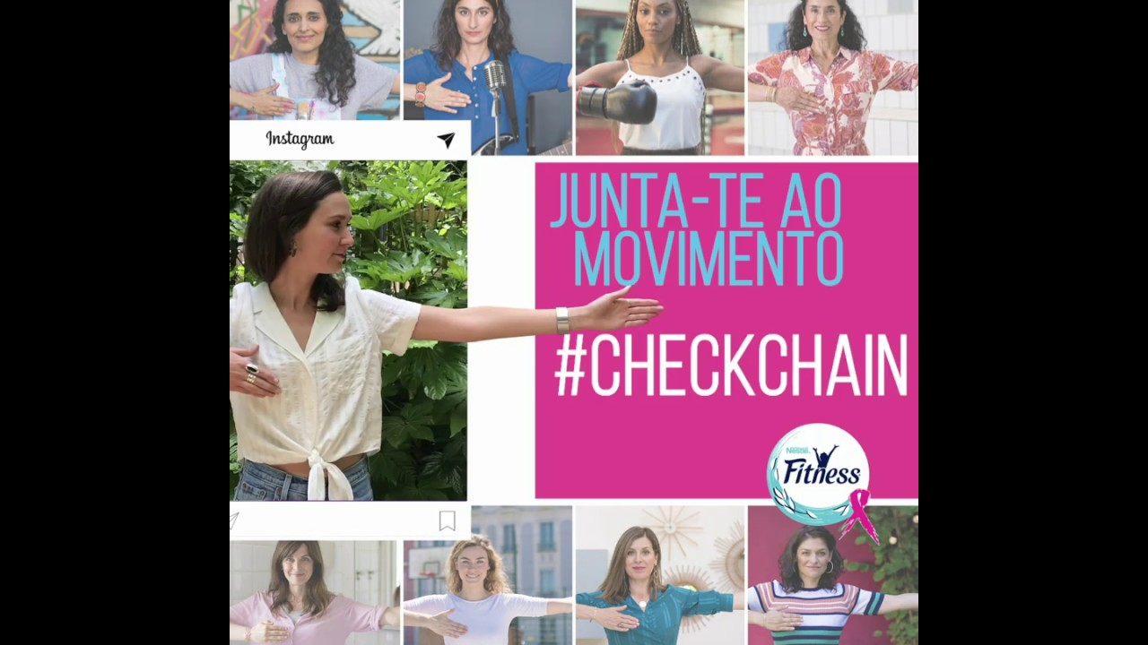 Junta-te ao Movimento #CheckChain com os cereais Fitness! - YouTube