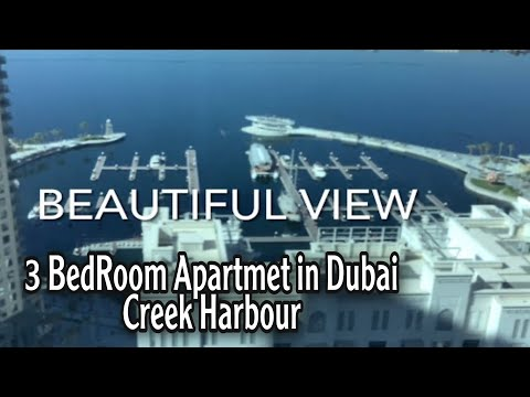How a Three Bedroom Apartment  Looks Like in Dubai Creek Harbour
