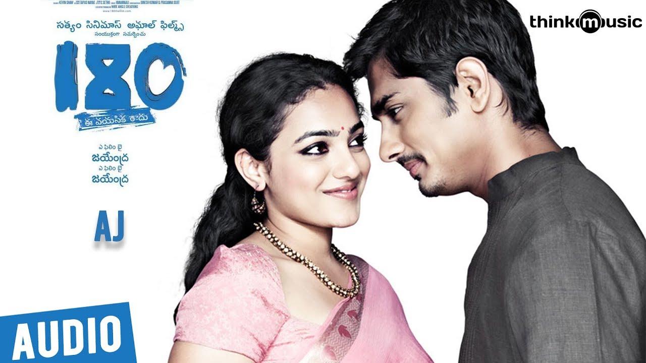 180 Songs - Telugu | Aj Song | Siddharth, Priya Anand, Nithya Menen | Sharreth