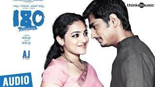 180 Songs Telugu | Aj Song | Siddharth, Priya Anand, Nithya Menen | Sharreth