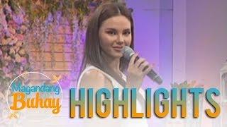 Magandang Buhay: Catriona Gray's signature walk