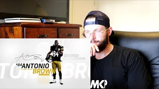 Rugby Player Reacts to ANTONIO BROWN NFL Career Highlights!
