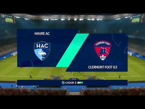 Le Havre vs Clermont Foot | Ligue 2 (14/12/2020) | Fifa 21 |