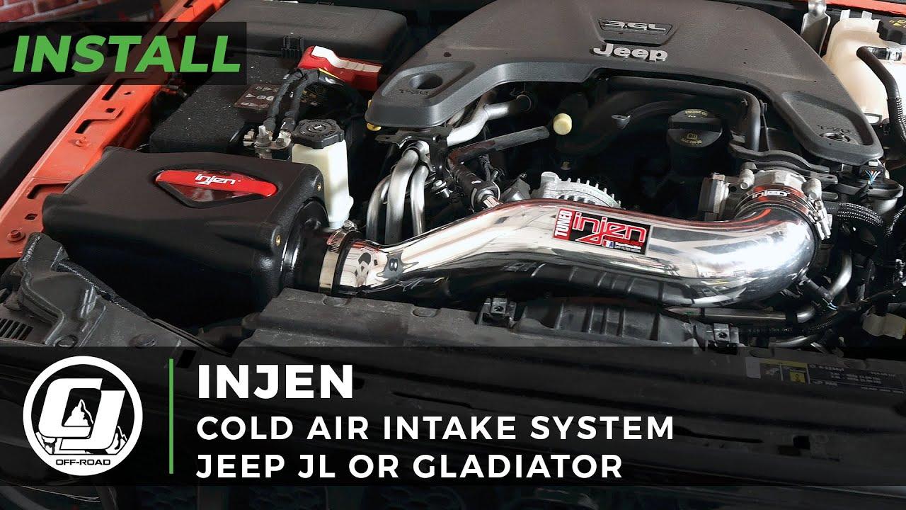 2018-2021 Jeep JL Install | Injen Cold Air Intake System