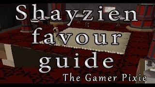 OSRS- Shayzien Favour Guide