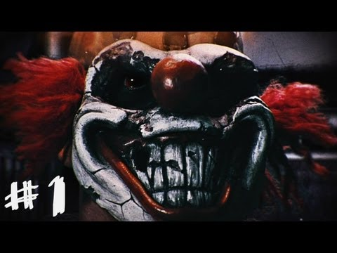 Twisted Metal Gameplay - Walkthrough - Part 1 - Sweet Tooth Intro (Story Mode) [PS3]