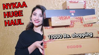*Non sponsor* NYKAA HUGE HAUL || 10000Rs.shopping  || Shystyles