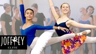 Ballet Auditions  Day 2  | JOFFREY ELITE