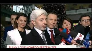 Jacek Kurski nowym prezesem Telewizji Polskiej