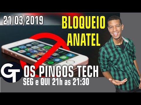 CELULAR XING LING SÃO BLOQUEADOS /O Primeiro celular todo tela da SAMSUNG! OS PINGOS TECH 21/03/2019