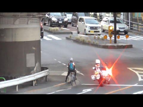 頭がイカれてるとしか思えない危険極まりない運転を白バイの目の前でした悪質な違反車に交通機動隊が怒りの緊急走行で即追跡!即検挙!Japanese Motorcycle police