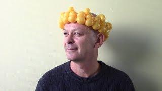 Как сделать корону из шариков
