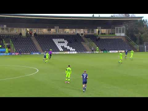 Forest Green Mansfield Goals And Highlights