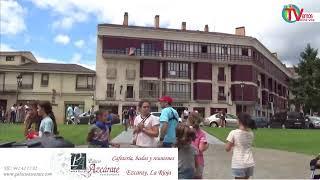 + imágenes FIESTAS SAN LORENZO en EZCARAY ( 09-08-2019)...Cohete y Cabezudos ,recorrido itinerante