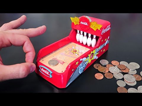 Coca Cola Bowling Coin Bank