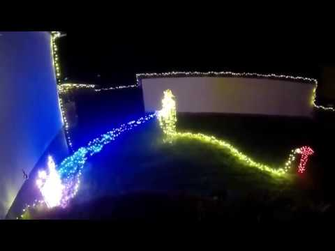 Test Led Weihnachtsbeleuchtung.Christmas Firefighter Led Feuerwehrmann Weihnachtsbeleuchtung