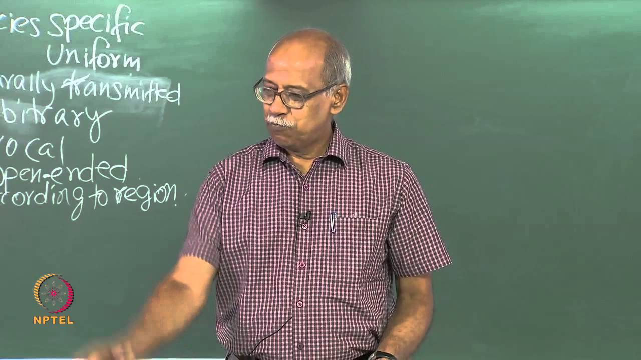 Mod-01 Lec-05 Design  Features of Language-4