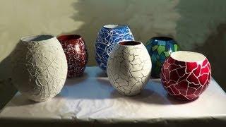 Vasos e potes de jornal – parte2