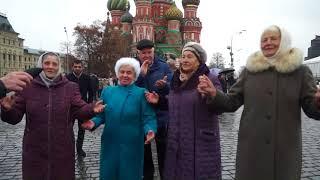 Песни с Елизаветинское на красной площади
