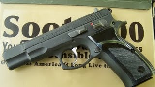 CZ 75 B 9mm Pistol Review