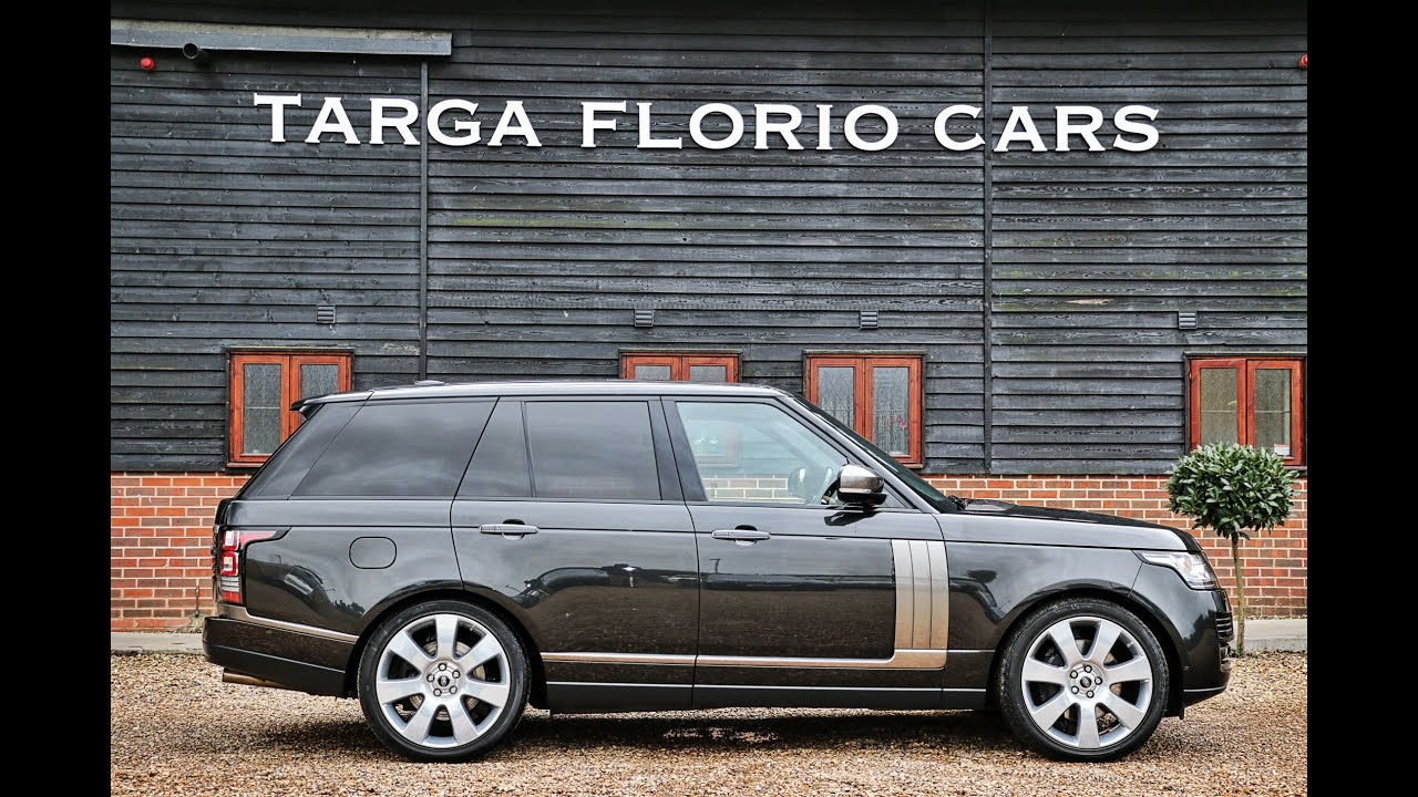 Range Rover Autobiography >> Range Rover Autobiography 5.0 V8 Supercharged 700BHP in Causeway Grey London UK - YouTube
