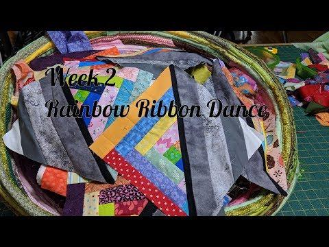 Week 2 - Rainbow Ribbon Dance