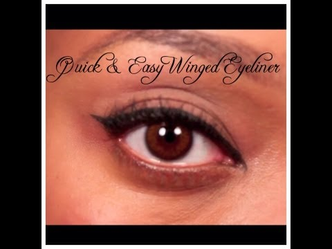 #65: Quick & Easy Winged Eyeliner