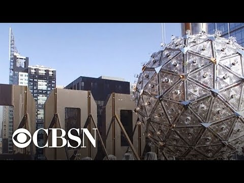 Behind the scenes with the iconic New Year's Eve crystal ball