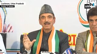 Congress will fight from 80 seats of UP in 2019 elections: Ghulam Nabi Azad