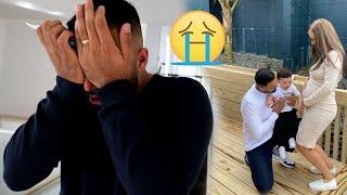 SURPRISE PREGNANCY ANNOUNCEMENT - Telling My Husband I'm Pregnant Again *EMOTIONAL VLOG*
