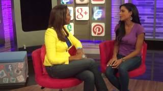 Entrevista Celebridades con Maura Francisca Lachapel- Nuestra Belleza Latina