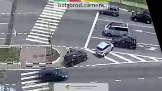 ДТП на Губкина/Ватутина в Белгороде.