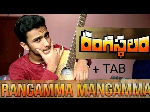 Rangamma Mangamma song|| Rangasthalam songs || Guitar Cover
