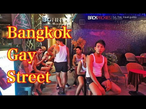 Bangkok Gay Street Bar Nightlife In Patpong