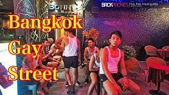 Bangkok Gay Street Bar Nightlife In Patpong