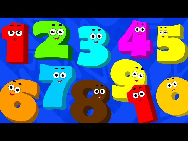 The Numbers Song For Kids