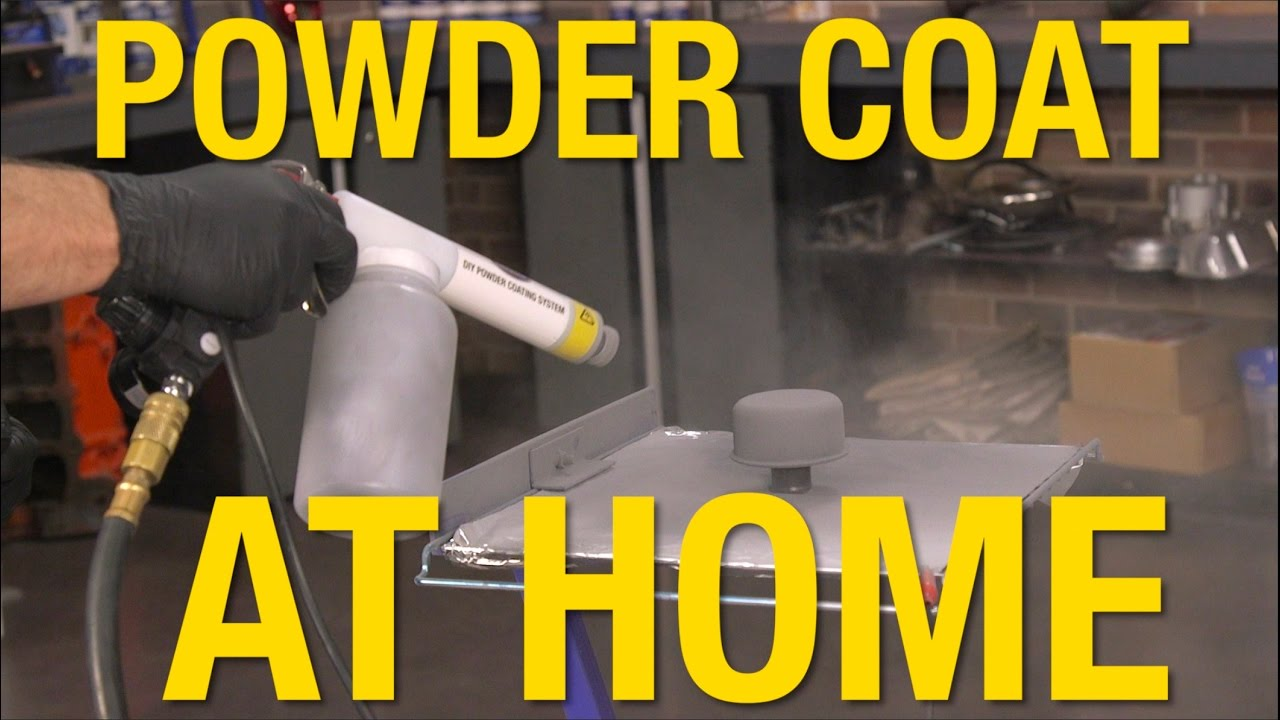 Get Professional Looking Powder Coated