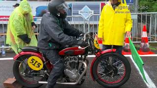 Pure Loud Sound: Vintage Bikes & Sidecars at Swiss Hillclimb Gurnigel 2017