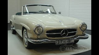 Mercedes Benz 190 SL 1961-VIDEO- www.ERclassics.com