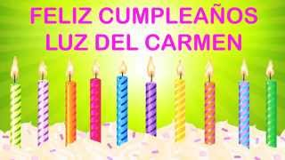 LuzdelCarmen   Wishes & Mensajes - Happy Birthday