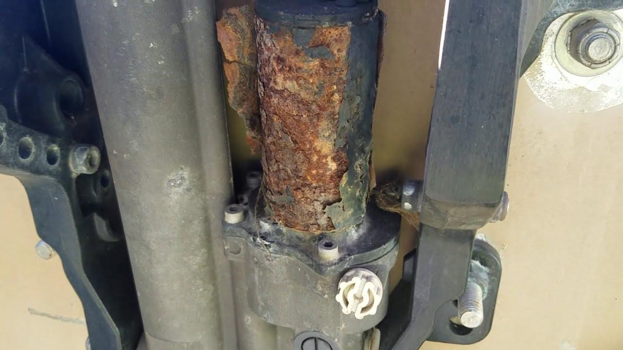 Mercury outboard trim motor repair - part 1