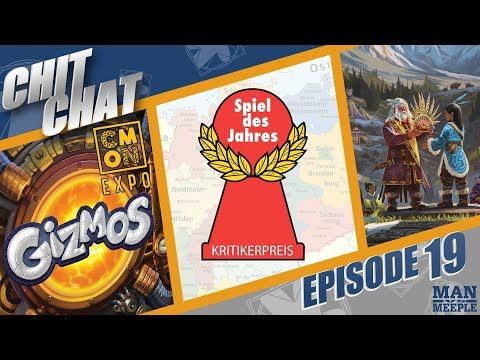 Chit Chat - Episode 19 - CMON Expo, Narcos: The Board Game is Amazing and the Spiel Des Jahres