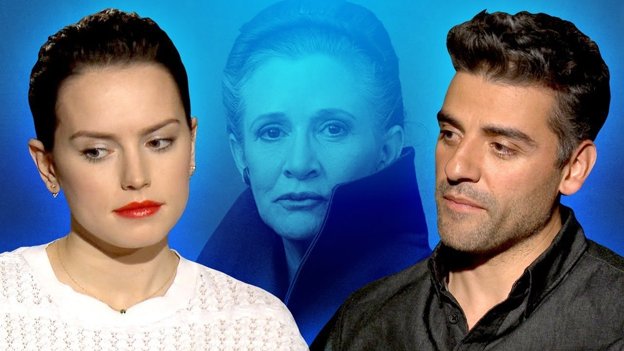 Star Wars Cast Shares Favorite Carrie Fisher Memory – The Last Jedi Interview