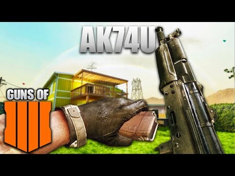 The Guns Of Black Ops 4: Ak74u