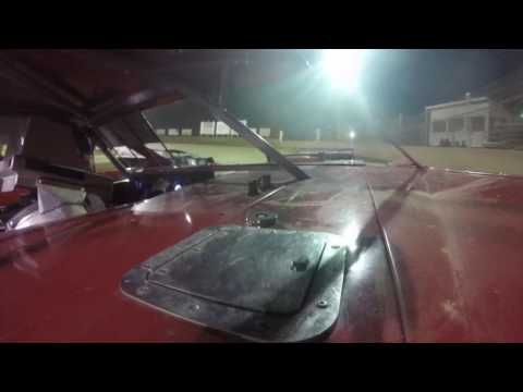 Rusty Griffaw In-Car Camera at Belle-Clair Speedway 6/9/17