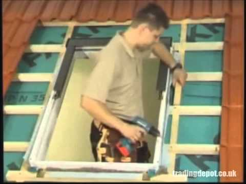 How To Fit Fakro Roof Windows (Centre Pivot) PTP