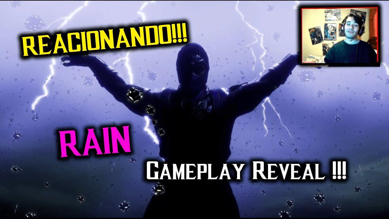 Free Time Reacciona! Rain Gameplay Reacción en Español! MK11 Ultimate