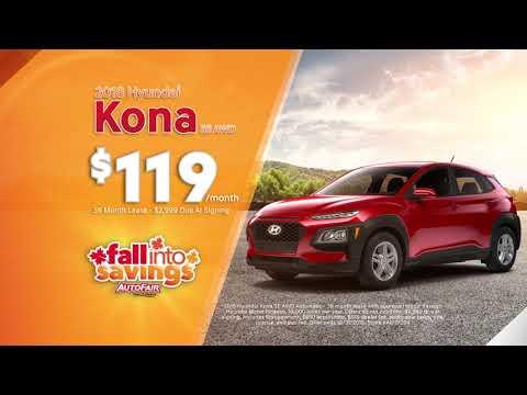 New Hyundai Kona Lease - October 2018